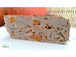 Detalle pan de calabaza