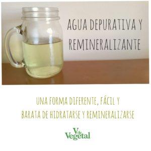 Agua depurativa y remineralizante