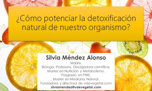 ¿Cómo potenciar la detoxificación natural del organismo?